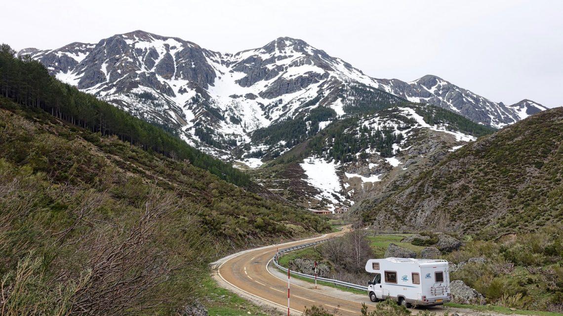 Mit dem Wohnmobil in den Winterurlaub